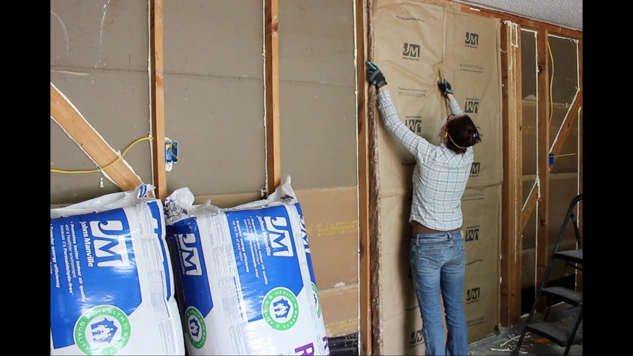 medium resolution of insulating a garage adding outlets and installing osb panels