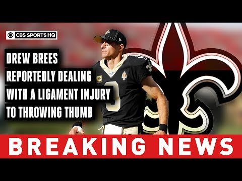 Adrian Long - Brees surgery likely, could miss 6 weeks