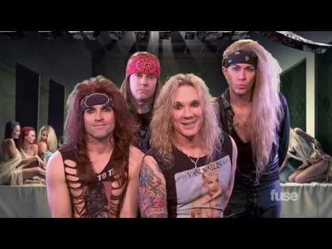 """Steel Panther """"All You Can Eat"""" Rejected Album Covers"""
