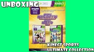Unboxing Kinect Sports Ultimate Collection PT-BR