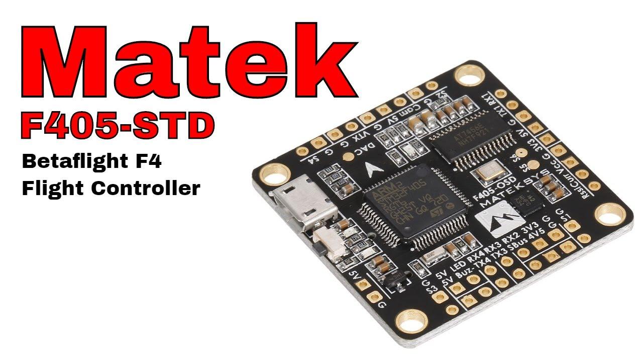 Matek F405 STD Betaflight Flight Controller