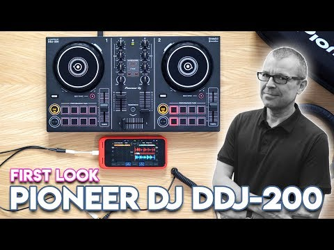 Pioneer DJ DDJ-200 First Look - DJ with Spotify and Beatport Link streaming! Mp3