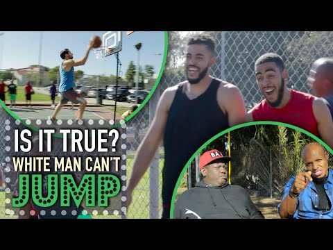 Thumbnail: White Men Can't Jump? - Is It True