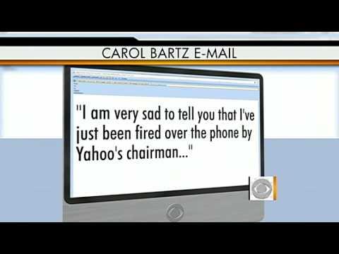 Yahoo! dumps CEO Carol Bartz