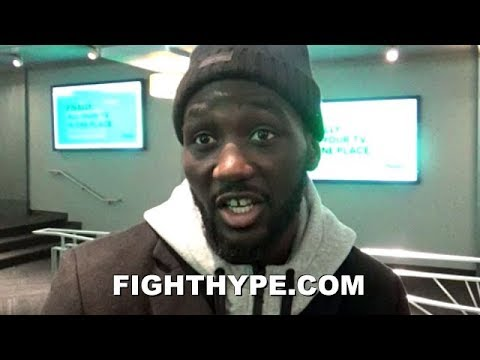 TERENCE CRAWFORD OPENS UP ON AMIR KHAN CLASH; READY TO TEST THEORY ON HIS CHIN