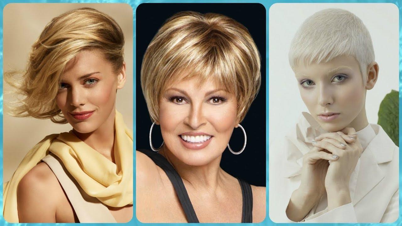 Top 20 Modele De Coafuri Par Scurt Blond Youtube