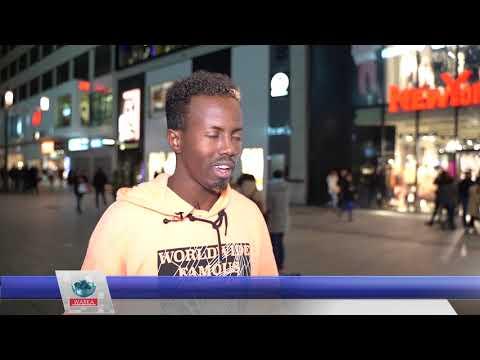 Axmed Cali, wiil Somali ah ku Madadaaliya dadka Jarmalka wadooyinka- Cabdisalaam Hereri