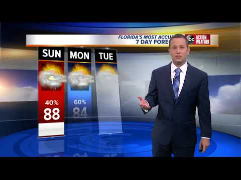 Florida's Most Accurate Forecast with Jason on Sunday, October 22, 2017
