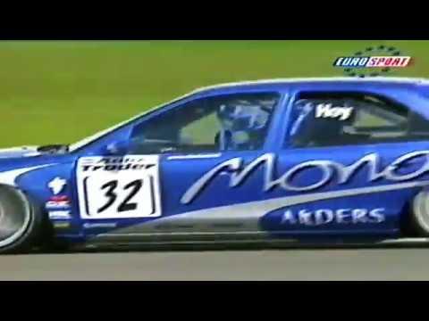 1998 Autotrader RAC BTCC Silverstone Round 3 From Eurosport TV.