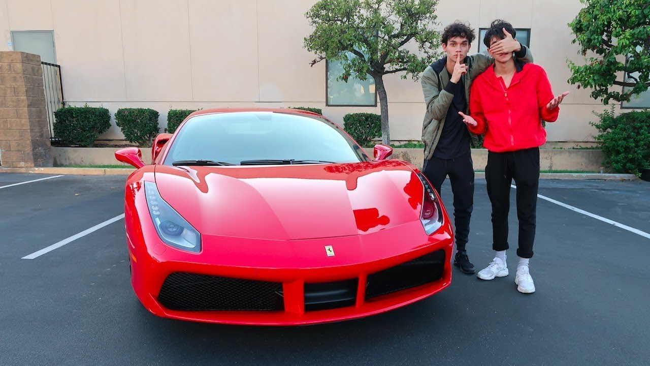 Dobre Brothers Cars Wallpaper I Bought My Twin A Ferrari Emotional Youtube