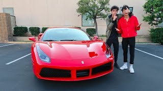 I BOUGHT MY TWIN A FERRARI !!! (emotional) thumbnail