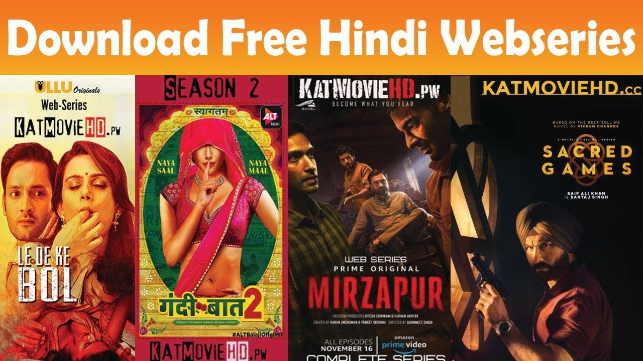 How to Download Hindi Webseries Free
