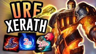 XERATH IS THE BEST CHAMP IN URF Ultra Rapid Fire 2019 League Of Legends