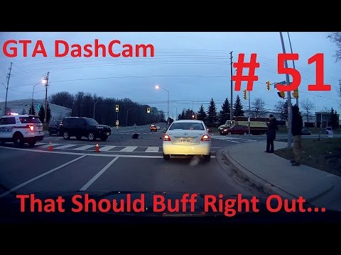 Bad Drivers of Greater Toronto Area and Southern Ontario: Compilation 51