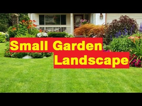 Garden Ideas Small garden landscape Pictures Gallery YouTube