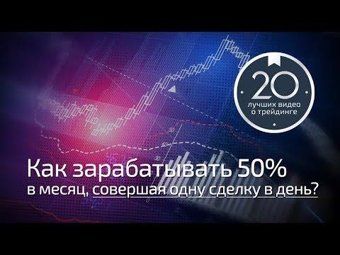 Трейдинг с Богатовым #6 - Как зарабатывать 50% в месяц, совершая одну сделку в день