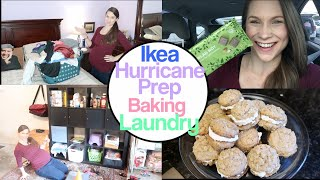 Prepare, Organize, Shop, Clean, Bake; All The Things With Me!  Hurricane Anticipation + More!