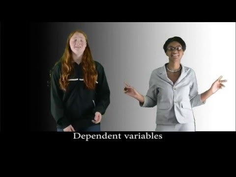 Independent and Dependent Variables Song (Challenge Thursday Season 2 Episode 2)