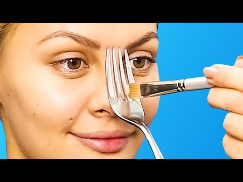 40 BEST BEAUTY HACKS COMPILATION