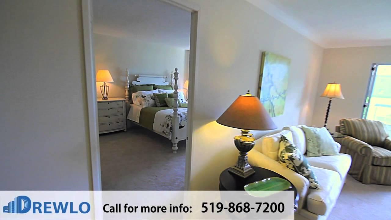 Capulet Towers Elgin Model 2 Bedroom Apartment For Rent In London Ontario Youtube