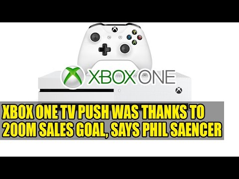 Xbox One TV Push Was Thanks to 200m Sales Goal, Says Phil Spencer