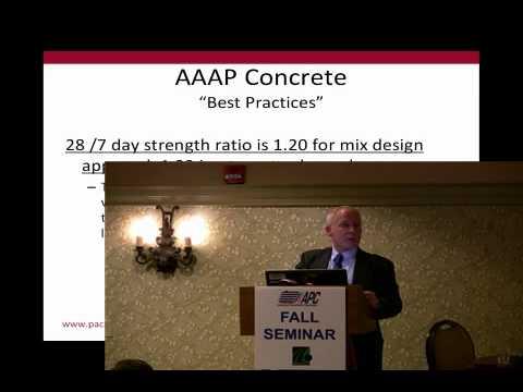 High Performance Bridge Deck - AAAP Concrete