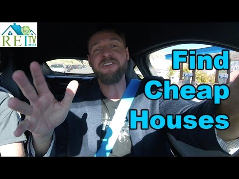 How To Find Cheap Property For Sale