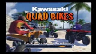 "[Wii] Introduction du jeu ""Kawasaki Quad Bikes"" de Data Design Interactive (2008)"