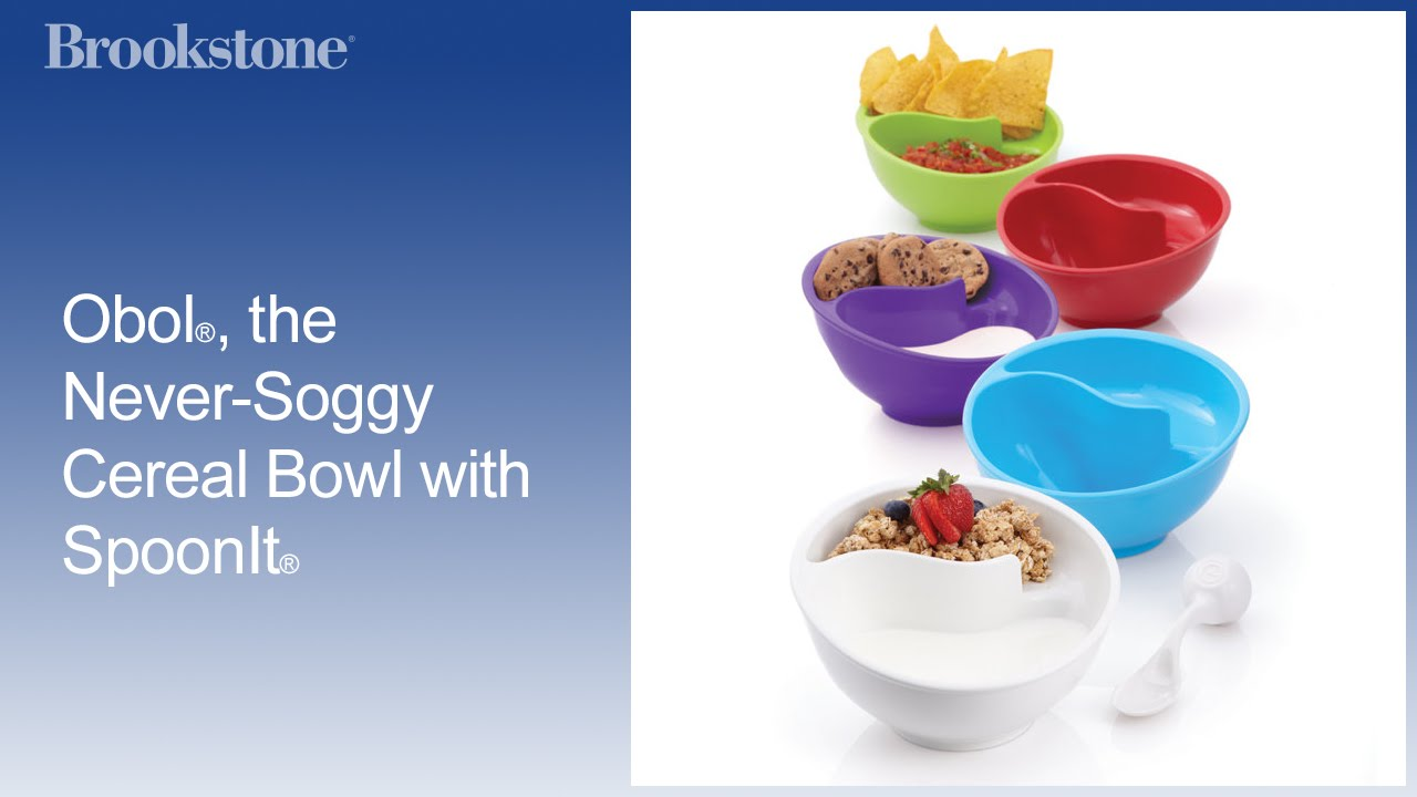 Obol the never soggy cereal bowl with spoonit youtube obol the never soggy cereal bowl with spoonit ccuart Choice Image