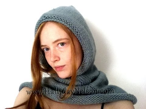 Basic Hooded Cowl Tips And Tricks YouTube Classy Hooded Cowl Pattern