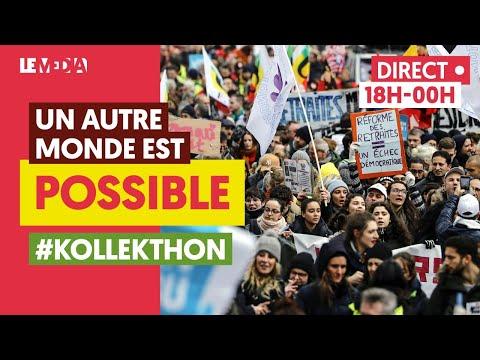 LE GRAND TÉLÉTHON DE LA GRÈVE - #KOLLEKTHON