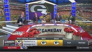 Rich, Steve, Kurt & Michael Predict Chargers def. Raiders; Packers def. Vikings