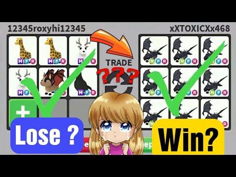 Mega Successful Trades In Adopt Me/ Mega shadow Dragon Traded