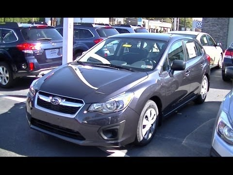 2013 Subaru Impreza 5 Door Youtube