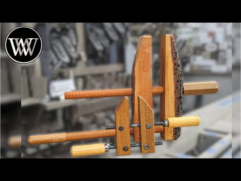 Making Wooden Hand Screw Clamps