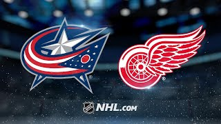 Bobrovsky, Blue Jackets beat Red Wings in SO, 2-1