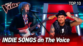 The best INDIE POP/ROCK MUSIC on The Voice | Top 10