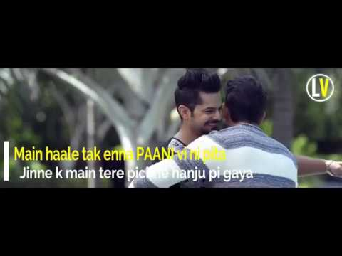 Paani (Lyrics Video) - Yuvraj Hans Ft Yuvika Chaudhary | Latest Punjabi Song 2018