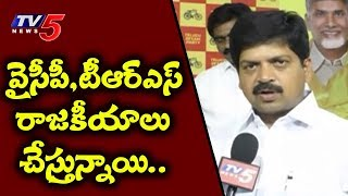 MInister Kollu Ravindra Sensational Comments On YCP And TRS | TV5 News