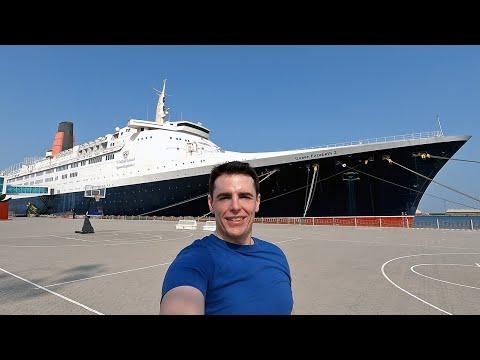 $120 Balcony Room - QE2 Luxury Cruise Liner 🇬🇧🇦🇪