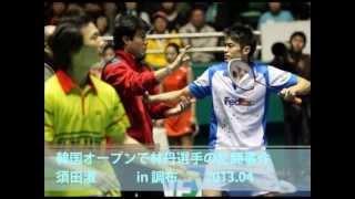 韓国オープンで林丹選手の乱闘事件