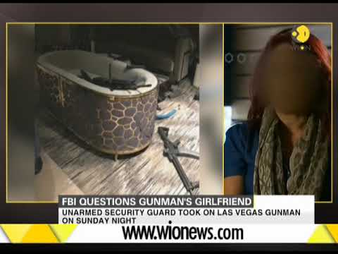 Las Vegas shooting: Gunman's girlfriend interrogated at FBI's Los Angeles office