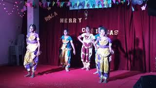 Christmas program 2017 - Aadhi Pithaa Kumaran - Tamil Classical Dance
