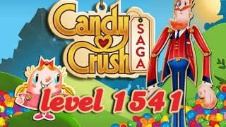 How To Beat Candy Crush Saga Level 1541 With No Boosters