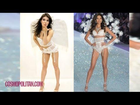 A Behind-the-Scenes Look at How Victoria's Secret Models Get Tan