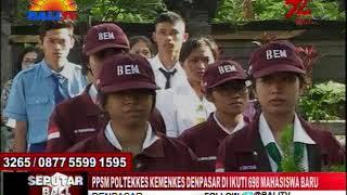 PPSM POLTEKKES KEMENKES DENPASAR DI IKUTI 698 MAHASISWA BARU