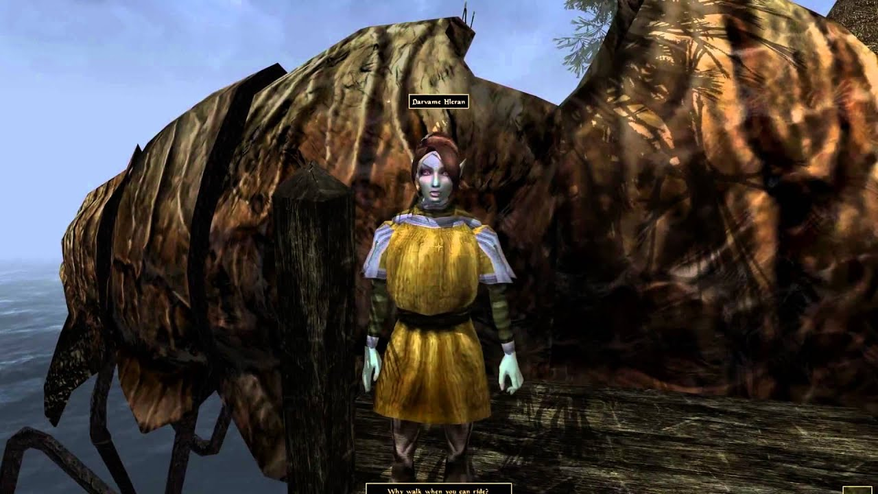 [Morrowind]Openmw 0 34 0 Opengl 4k(resources) Windows Vs Linux (Nvidia  GTX970)