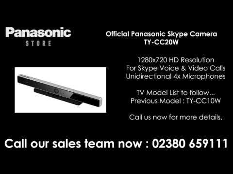 Panasonic TYCC20W Skype Camera (Available To Order)