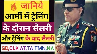 Indian Army(सैलरी) Payment During Training Period & After Training (हिंदी)