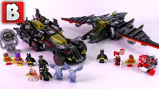 LEGO The Ultimate Batmobile & The Batwing! Sets 70916 + 70917! | Double Review